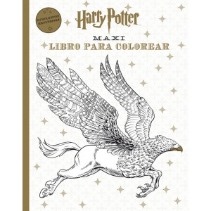 HARRY POTTER MAXI LIBRO PARA COLOREAR