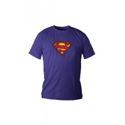 LOGO SUPERMAN CAMISETA AZUL