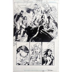 Arte Original: Justice League 22 USA Página 21