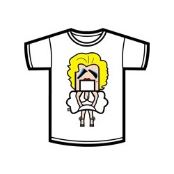 Camiseta Dr.Ueee Marilyn (Chica)