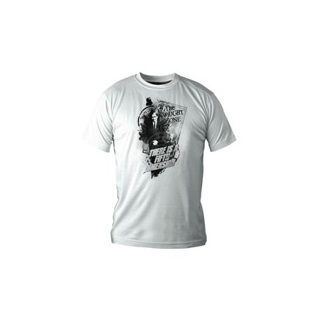 FIFTH DIMENSION CAMISETA BLANCA CHICO Talla M THE TWILIGHT ZONE