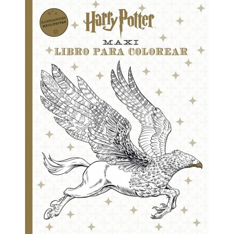 HARRY POTTER MAXI LIBRO PARA COLOREAR - Comicalia