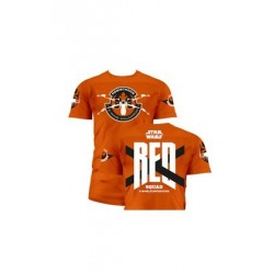 RED SQUAD M/CORTA CAMISETA NARANJA CHICO T-M STAR WARS EP7