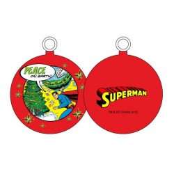 SUPERMAN PEACE ON EARTH BOLA NAVIDAD DC COMICS