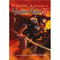 VAMPIRE HUNTER D 03 (COMIC)