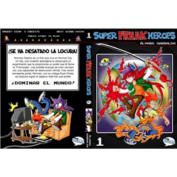 SUPER FREAK HEROES 01