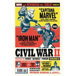 CIVIL WAR II N. 8 (PORTADA ALTERNATIVA)