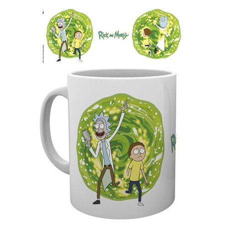 Rick y Morty Taza Portal