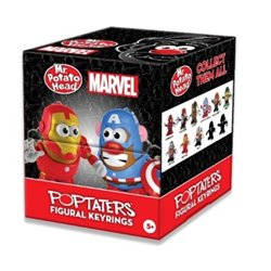 LLAVEROS 5 CM POTATO MARVEL BLIND BOXES