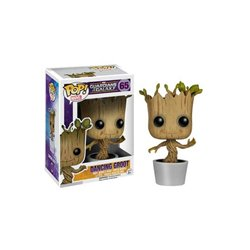 Guardians of the Galaxy POP! Vinyl Cabezón Dancing Groot 10 cm