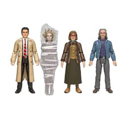 SET 4 FIGURAS 9.5 cm ACTION FIGURES TWIN PEAKS
