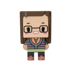 PIXEL FIGURA 7 cm. AMY THE BIG BANG THEORY