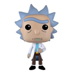 Rick y Morty POP! Animation Vinyl Figura Rick 9 cm