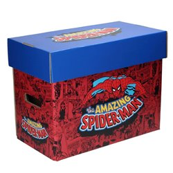 SPIDER-MAN CAJA PARA COMICS MARVEL