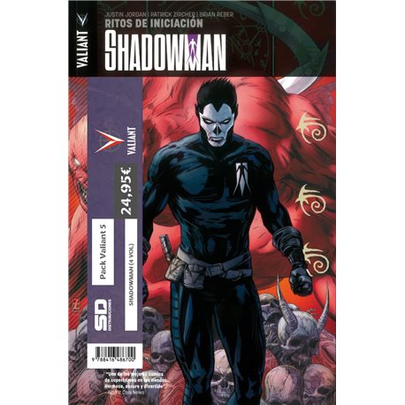 PACK VALIANT 05. SHADOWMAN (4 VOL)
