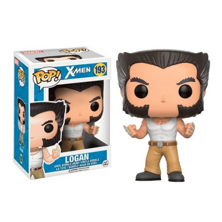 LOGAN FIGURA 10 CM VINYL POP MARVEL X-MEN