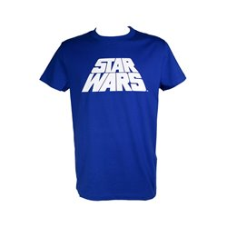 LOGO STAR WARS CAMISETA AZUL VHS CHICO T-XL STAR WARS