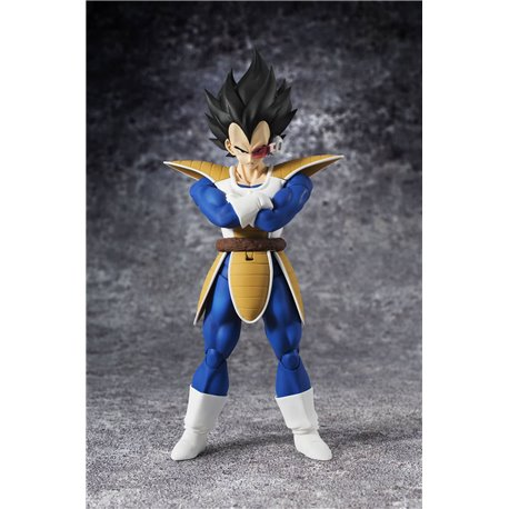 VEGETA FIGURA 16 CM DRAGON BALL Z SH FIGUARTS