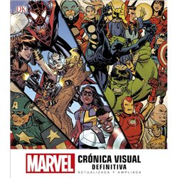 MARVEL. CRÓNICA VISUAL DEFINITIVA