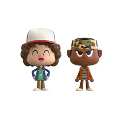 Stranger Things Pack de 2 VYNL Vinyl Figuras Dustin