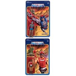 Zodac + Stratos Masters of the Universe Figuras ReAction 10 cm Wave 3