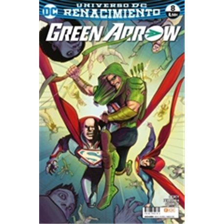 GREEN ARROW VOL. 2, NÚM. 08 (RENACIMIENTO)