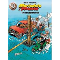 MAGOS HUMOR 191: LOS SECUESTRADORES (MORTADELO Y FILEMON)