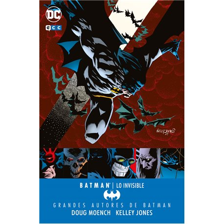 GRANDES AUTORES DE BATMAN: DOUG MOENCH Y KELLEY JONES - LO INVISIBLE