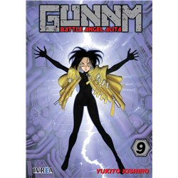GUNNM (BATTLE ANGEL ALITA) 09