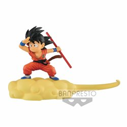 SON GOKU FLYING VERSION RED SUIT 13 CM DRAGON BALL