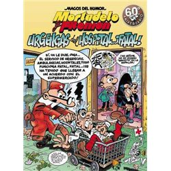 MAGOS HUMOR 194: URGENCIAS DEL HOSPITAL...¡FATAL! (MORTADELO Y FILEMÓN)