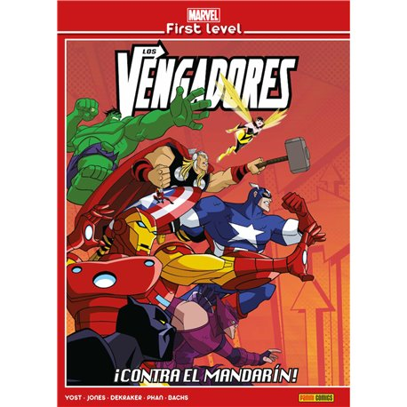 MARVEL FIRST LEVEL 03. LOS VENGADORES: ¡CONTRA EL MANDARIN!