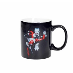 HARLEY QUINN Y JOKER TAZA CERAMICA UNIVERSO DC MASTERWORKS COLLECTION