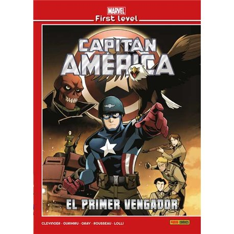MARVEL FIRST LEVEL 07. CAPITAN AMERICA: EL PRIMER VENGADOR