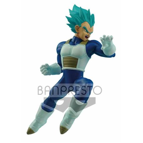 SUPER SAIYAN VEGETA AZUL FIGURA 16 CM DRAGON BALL SUPER IN FLIGHT FIGHTING FIGURE
