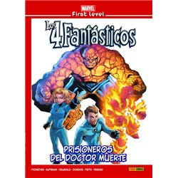 MARVEL FIRST LEVEL 18: LOS 4 FANTÁSTICOS: PRISIONEROS DEL DOCTOR MUERTE