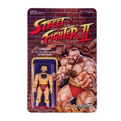 Street Fighter II Figuras ReAction 10 cm Zangief