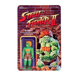 Street Fighter II Figuras ReAction 10 cm Blanka