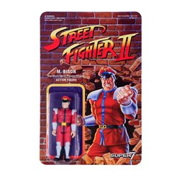 Street Fighter II Figuras ReAction 10 cm M.Bison
