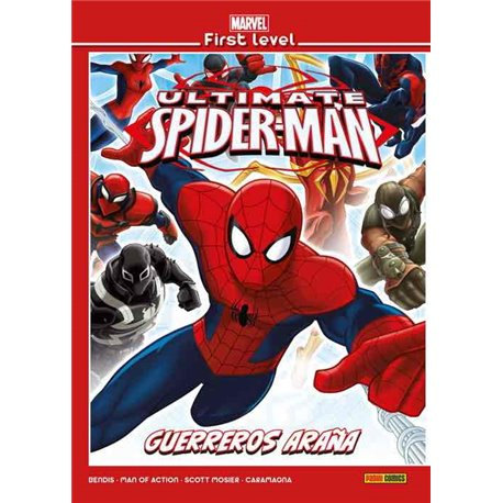 MARVEL FIRST LEVEL 19: ULTIMATE SPIDER-MAN: GUERREROS ARAÑA
