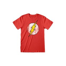DC Comics Camiseta Flash Logo - Talla L