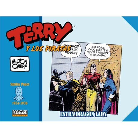TERRY Y LOS PIRATAS: 1934-1936 SUNDAY PAGES