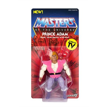 Masters of the Universe Figura Vintage Collection Wave 3 Prince Adam 14 cm