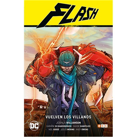 FLASH DE JOSHUA WILLIAMSON VOL. 03: VUELVEN LOS VILLANOS