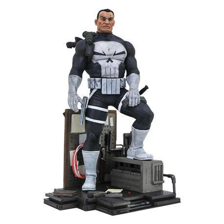 PUNISHER 23 CM PVC DIORAMA MARVEL COMIC GALLERY