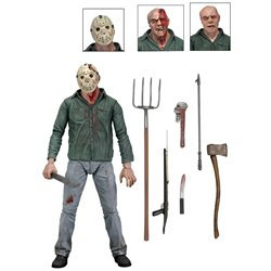 JASON VIERNES 13 FIGURA 18 CM FRIDAY THE 13TH ULTIMATE PARTE 3