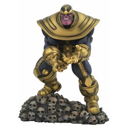 THANOS 23 CM PVC DIORAMA MARVEL COMIC GALLERY