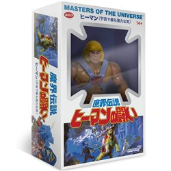 Masters of the Universe Figure Vintage Collection Wave 4 He-Man Japanese Box