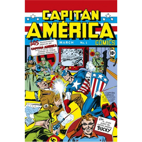 MARVEL FACSIMIL 13. CAPTAIN AMERICA COMICS 01