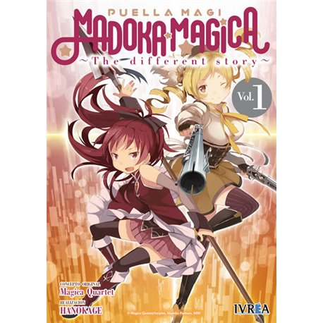 MADOKA MAGICA THE DIFFERENT STORY 01 (COMIC)